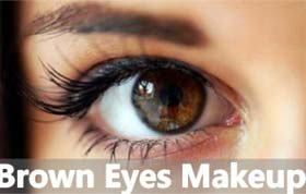 How To Makeup For Brown Eyes